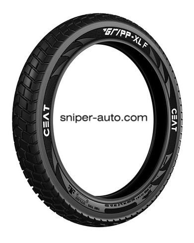 CEAT GRIPP XL 90/90-21- STOCK FRONT TYRE & TUBE
