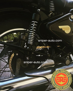 Rolon Gold Chain Sprocket Kit for RE Cla