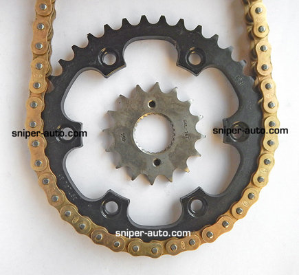 Thunderbird 500 / Thunderbird X- Rolon GOLD Chain Sprocket Kit