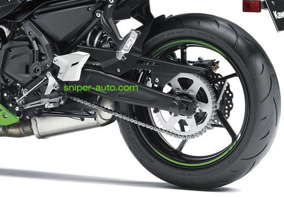 Ninja 650 / Versys 650- Rolon X-Ring Chain Sprocket Kit