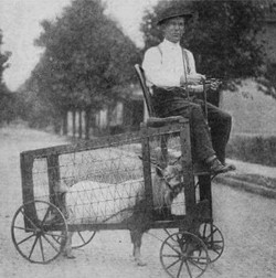 Rare photo of the world's first Dodge Ra