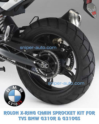 BMW G310R / G310GS- Rolon X-Ring Chain Sprocket Kit