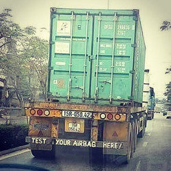 Test Your Airbags Here  #bumpersticker #