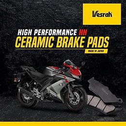 VESRAH CERAMIC BRAKE PADS- R15 V3 / FZ16 / FZ25 / FAZER 25