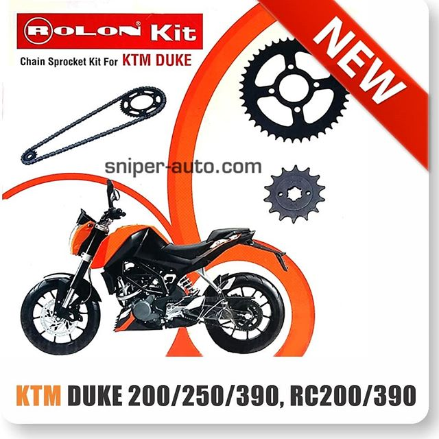 Rolon X-Ring Chain Sprocket Kit for KTM