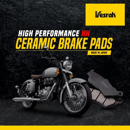 VESRAH CERAMIC BRAKE PADS- CLASSIC 350/500, T-BIRD 350/500
