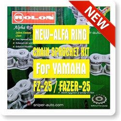 New Alfa-Ring Chain Sprocket Kit for Yam