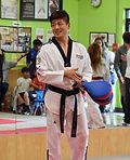 5th degree black belt owner and head master at Sidekick Taekwondo