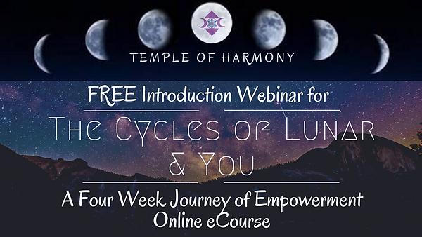 1a FREE WEBINAR  The Cycles of Lunar & Y