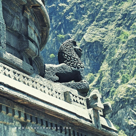 Tempeldetail Panch Pandava Tempels