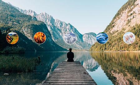 Fünf Elemente nach Sri Kaleshwar