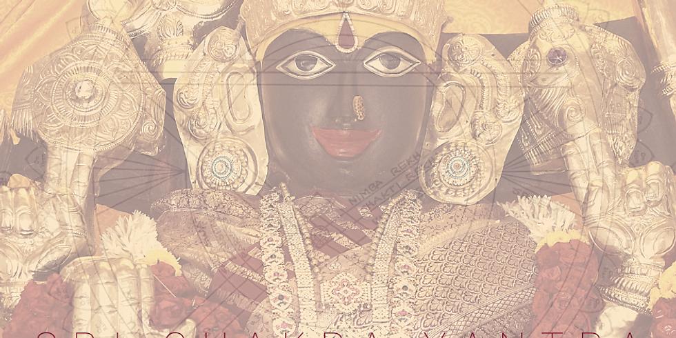Sri Chakra Yantra - Navaratri 2019