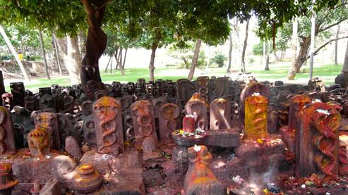 Nagagarten in der Tempelanlage