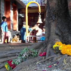 Eingang Hanuman Tempel