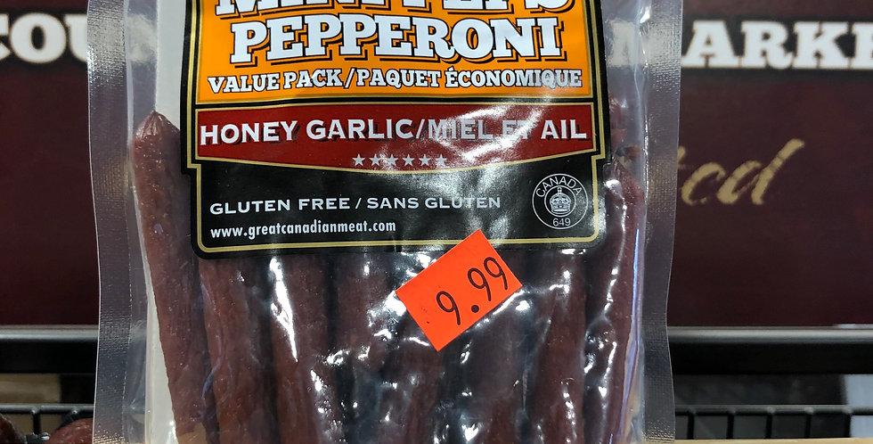 Great Canadian Meat Mini Peps: Honey Garlic