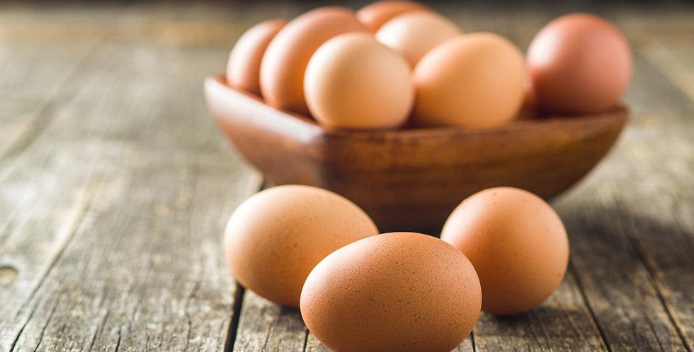 Large Eggs - 1 Dozen (brown)