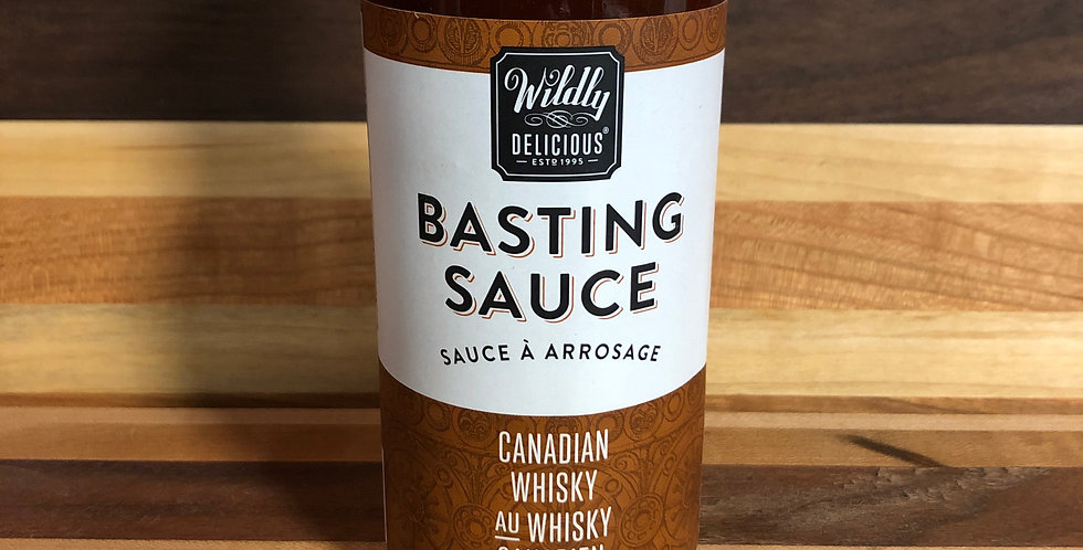 Wildly Delicious Basting Sauce, Canadian Whisky  - 350ml
