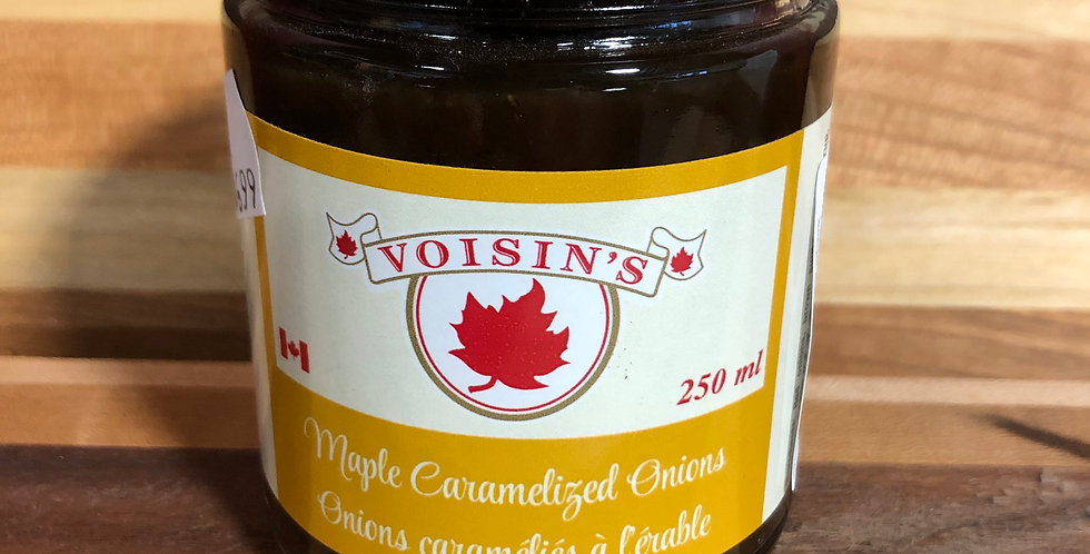 Voisins Maple Caramelized Onion 250 ml