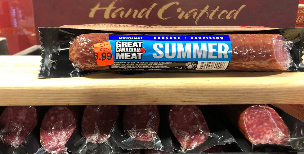 Great Canadian Meat Dried Salami: Summer