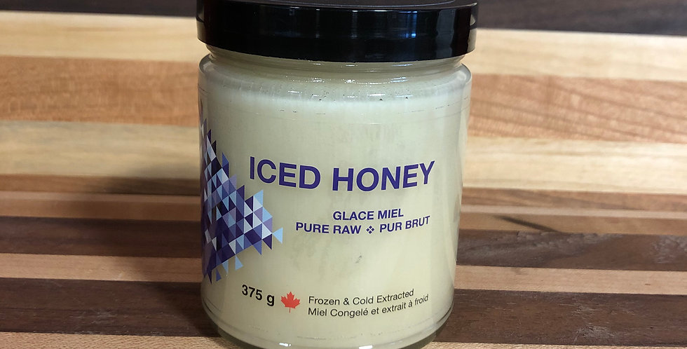 Belicious: Pure Raw Iced Honey (375g)