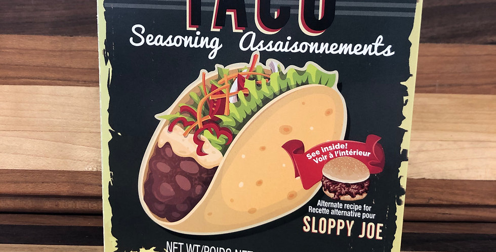 Gourmet Village Taco Seasoning(24g)