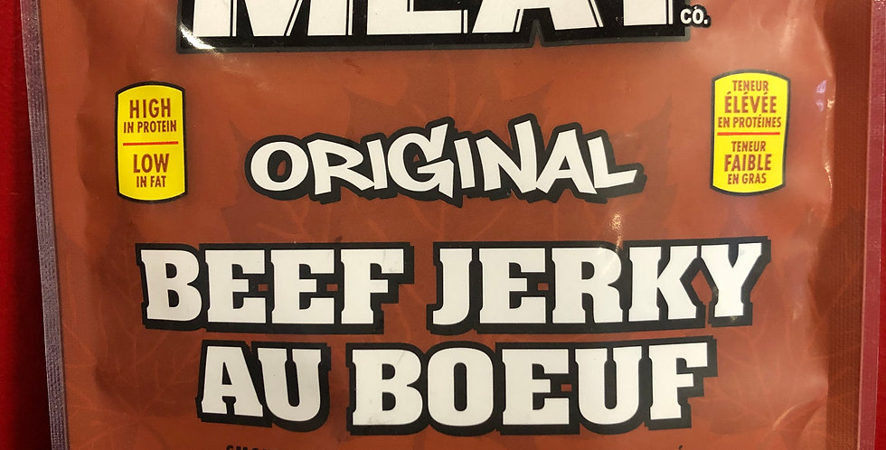 Great Canadian Meat Beef Jerky: Original 120g