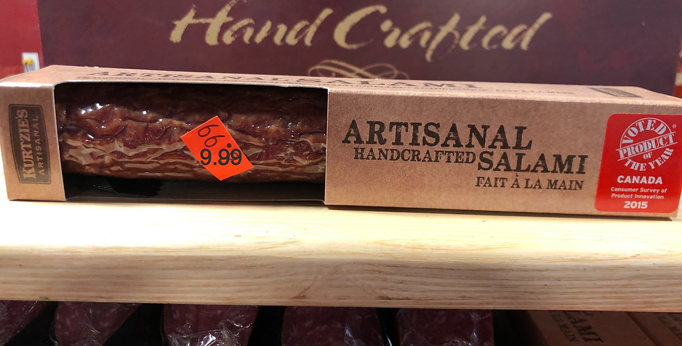Great Canadian Meat Dried Salami: Artisanal Handcrafted