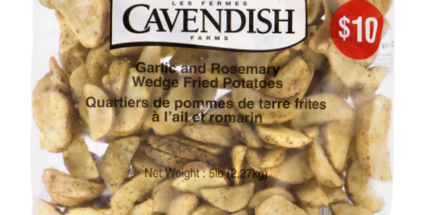 Cavendish Garlic & Rosemary Potato Wedges