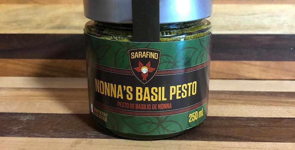 Sarafino: Nonas Basil Pesto(250ml)