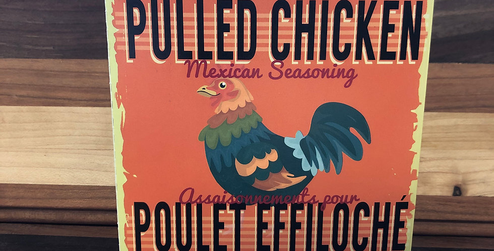 Gourmet Village Mexican Pulled Chicken Seasoning (18g)