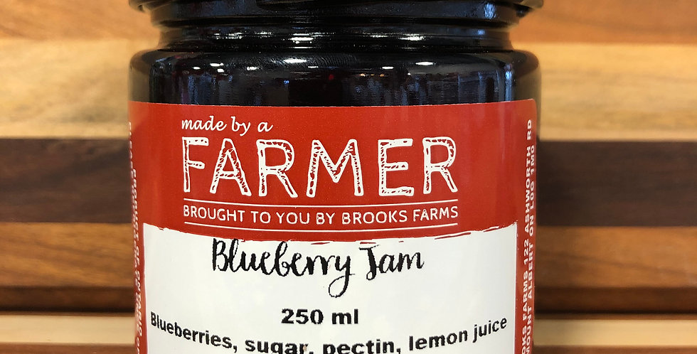 Brooks Farms Blueberry Jam(250ml)