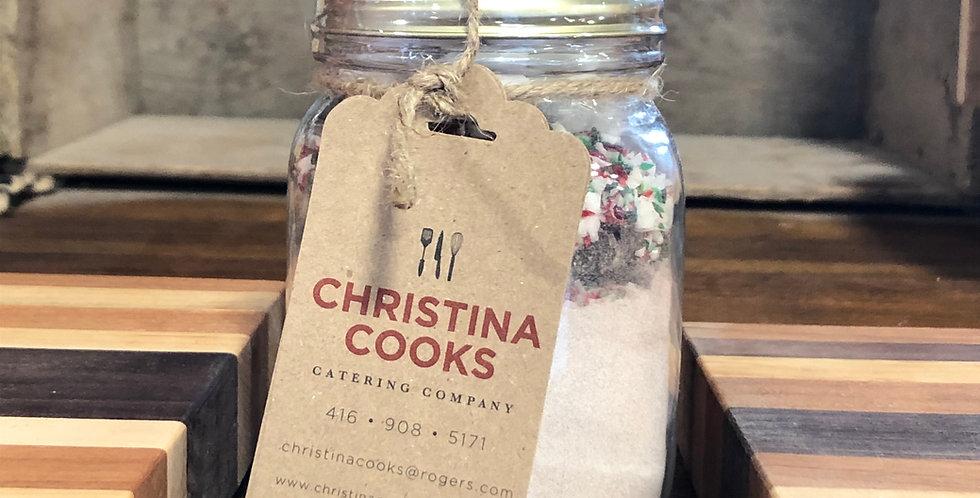 Christina Cooks-Peppermint Hot Chocolate