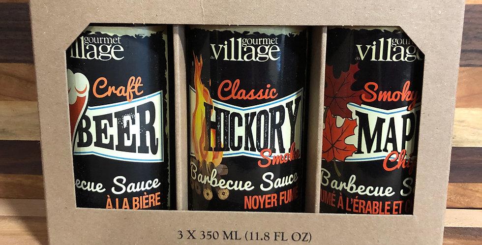 Gourmet Village: 3 Pack BBQ Sauce(3x350ml)
