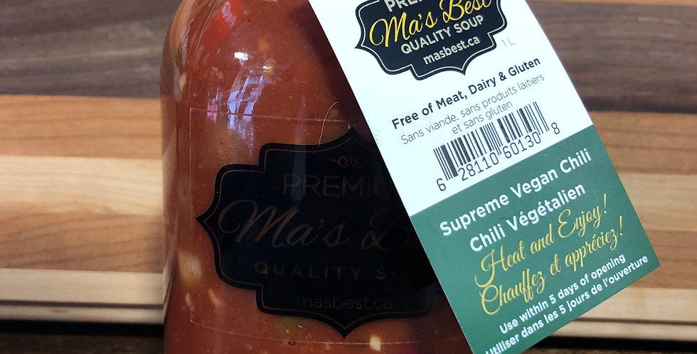 Ma's Best Soup - Supreme Vegan Chili