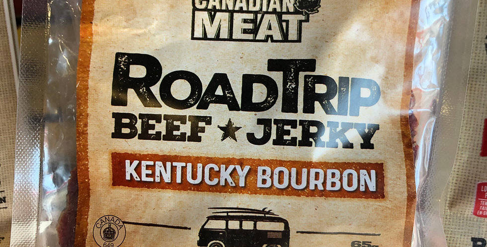 Great Canadian Meat Beef Jerky: Kentucky Bourbon