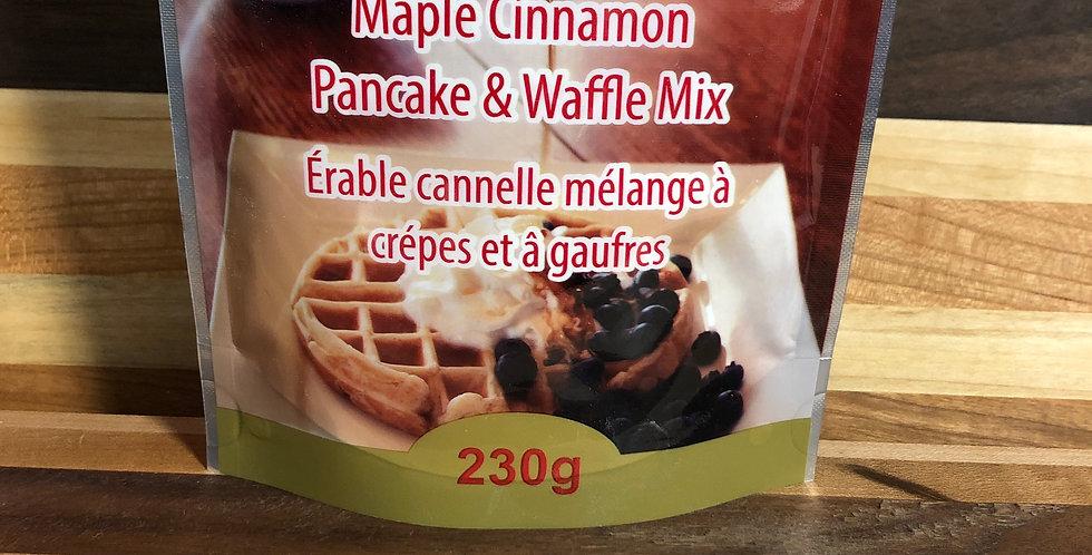 Voisins Maple cinnamon Pancake & Waffle Mix 230g