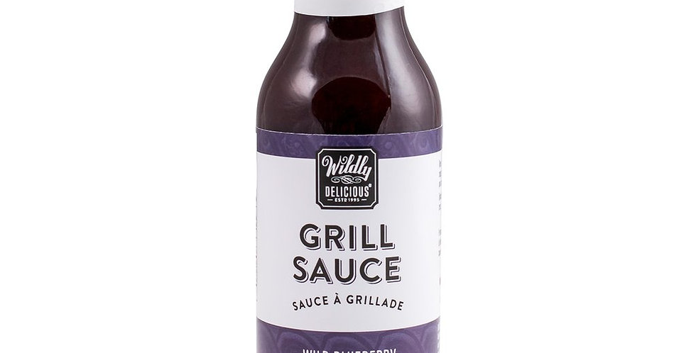 Wildly Delicious Grill Sauce Wild Blueberry & Brown Sugar - 350ml