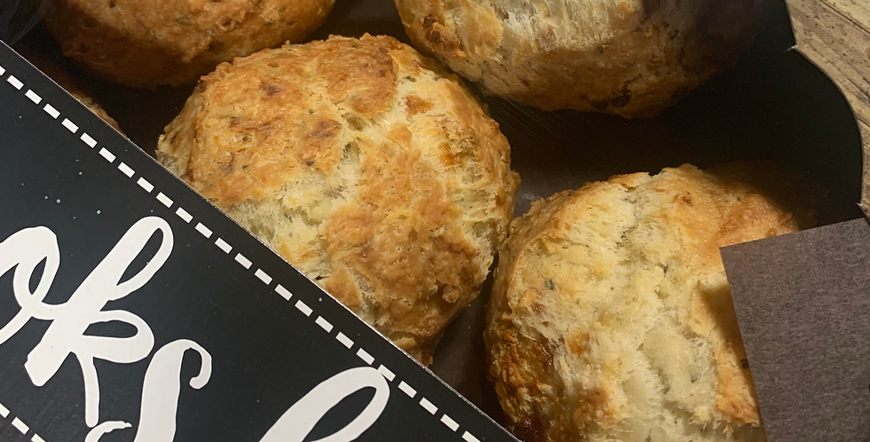 Goat Cheese & Herb Scones (pack of 6)