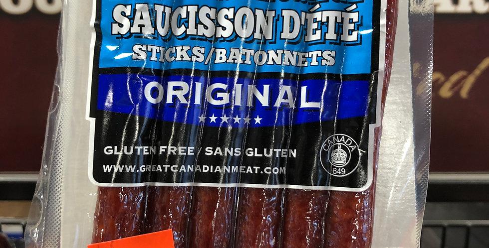 Great Canadian Meat Sausage Sticks: Original, 150g