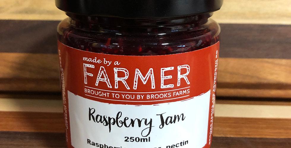 Brooks Farms Raspberry Jam - 250ml