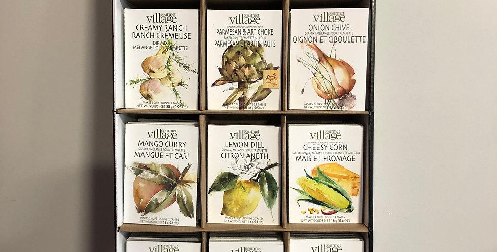 Gourmet Village Dip/Seasoning Packs