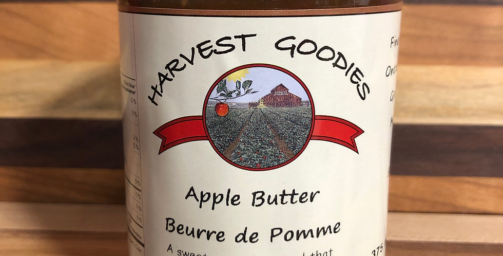 Harvest Goodies: Apple Butter(375ml)