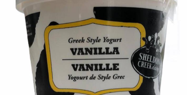 Sheldon Creek Yogurt - Vanilla