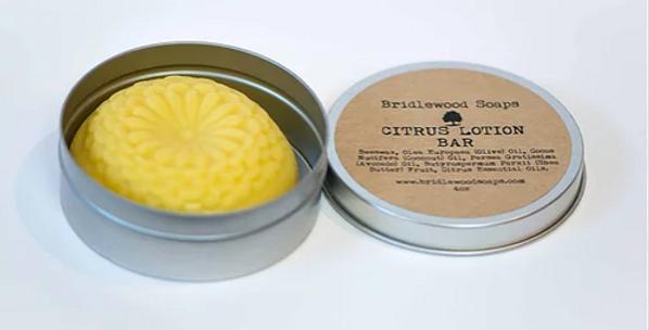 Bridlewood Soap Lotion Bar - Citrus