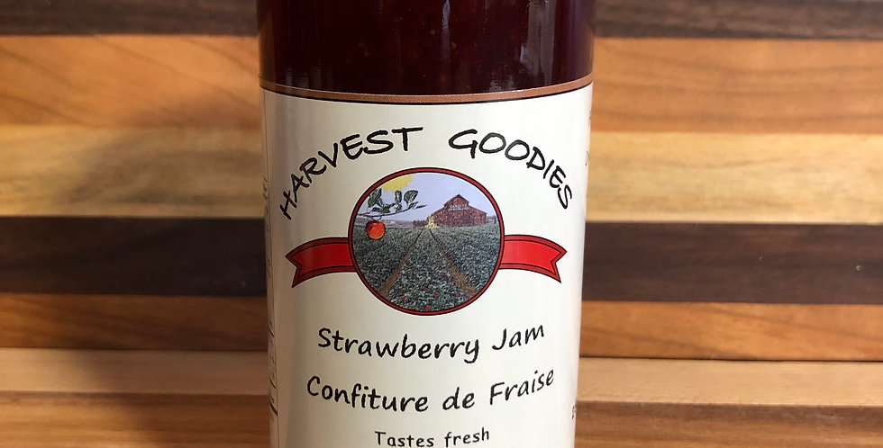 Harvest Goodies Strawberry Jam(250ml)