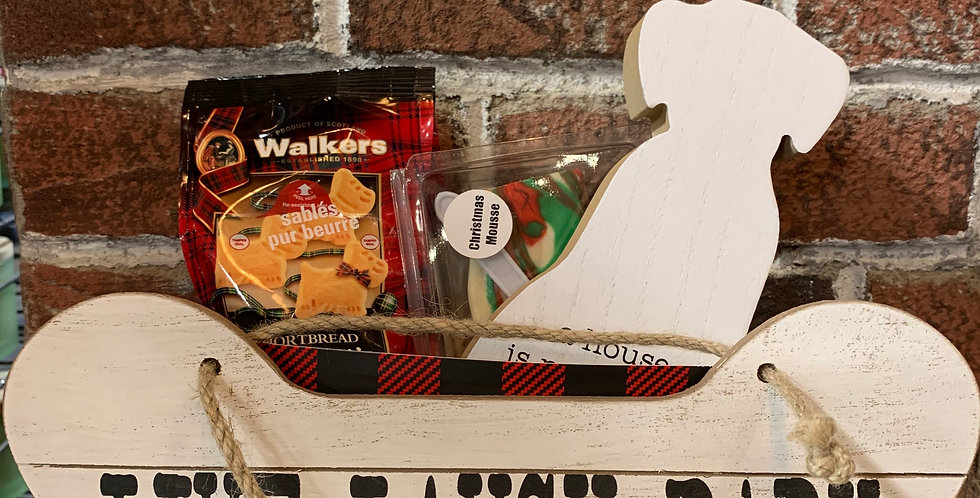 """For the Dog Lover"" Gift Basket"