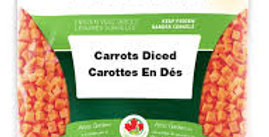 Frozen Diced Carrots 2kg