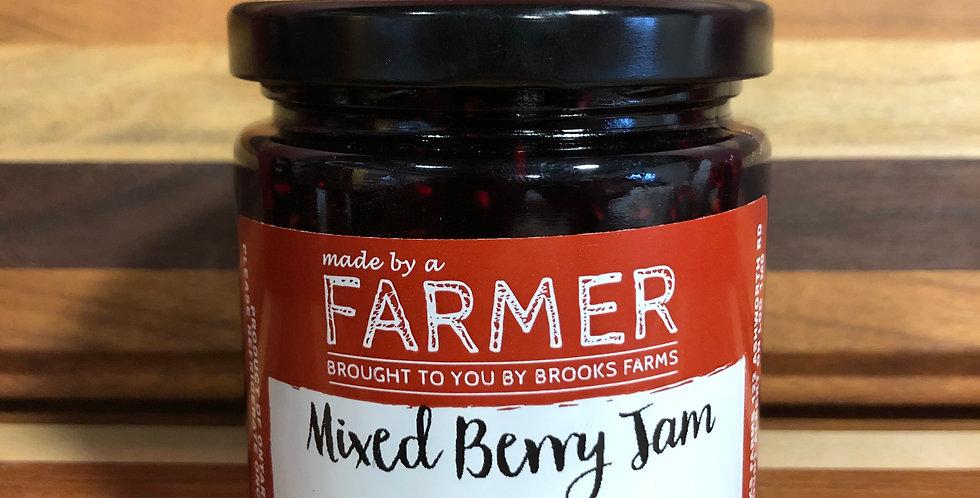Brooks Farms Mixed Berry Jam(250ml)