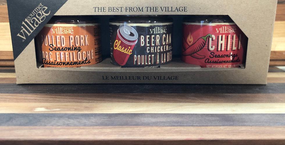 Gourmet Village Seasoning Gift Box