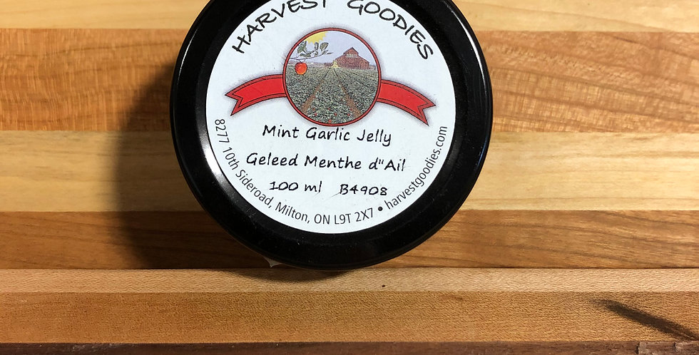 Harvest Goodies: Mint Garlic Jelly (100 ml)